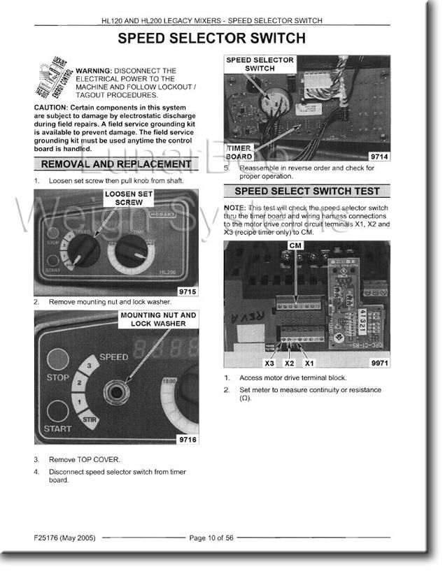 Hobart 1612e service manual